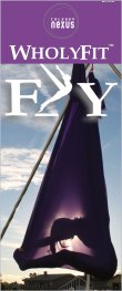 """Fly"" Large Vertical Banner"