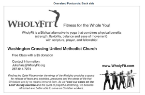 """Stretch Your Faith"" Style Backside"